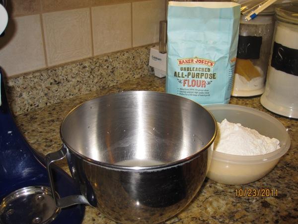 I used unbleached Trader Joe's flour