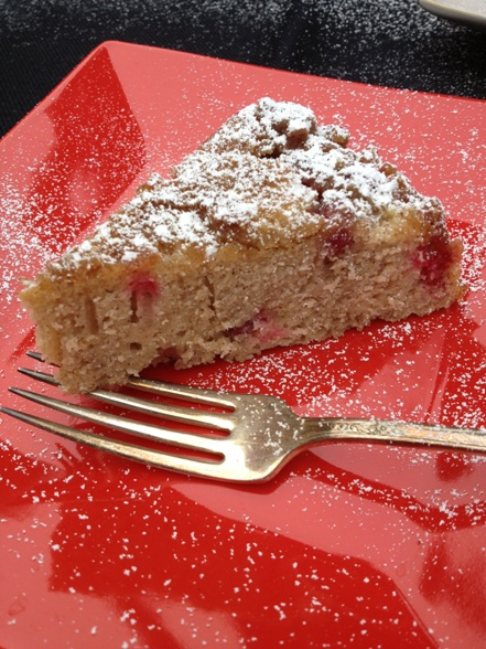 Cranberry Upside Down Cake!