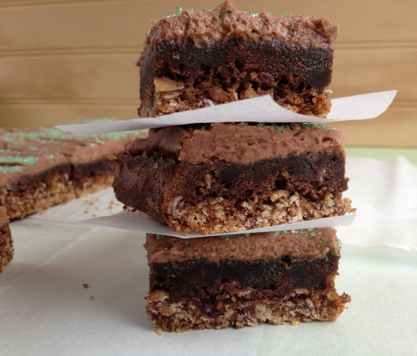 Oatmeal Stout Brownies