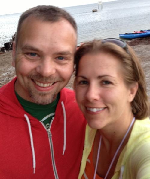 Tim and I (kayaking 5/31/13)