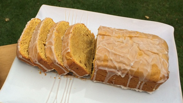 Buttercup Squash Pound Cake